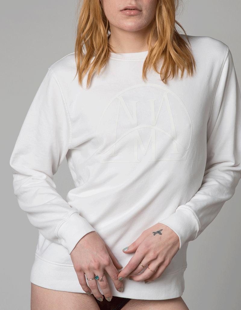 blanc sur camiseta lluis mengual genderless unisex